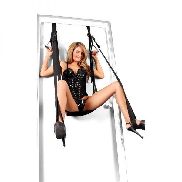 נדנדת סקס לדלת עם מושב מרופד