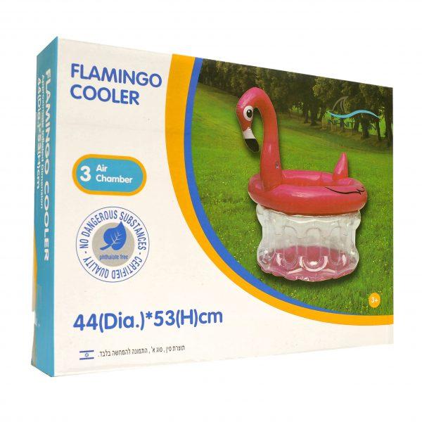 פלמינגו מתנפח לבריכה