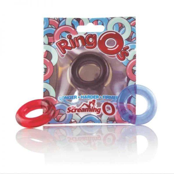 טבעת חיזוק זקפה שחורה Ringo