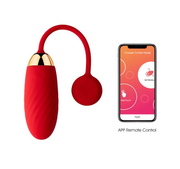 Ella ביצת רטט עם אפליקציה