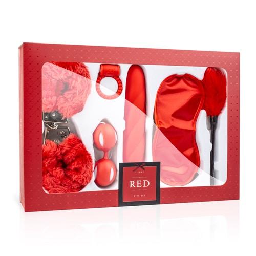 מארז מתנה I love red