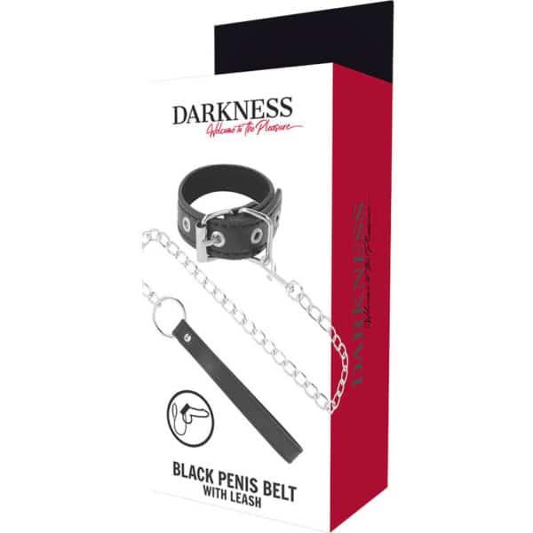 Black penis belt